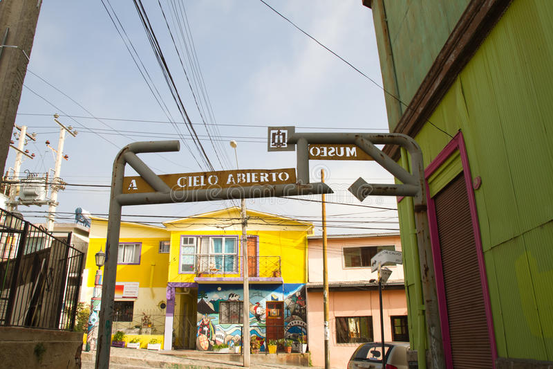 Valparaiso, Chili - art de rue photographie stock libre de droits