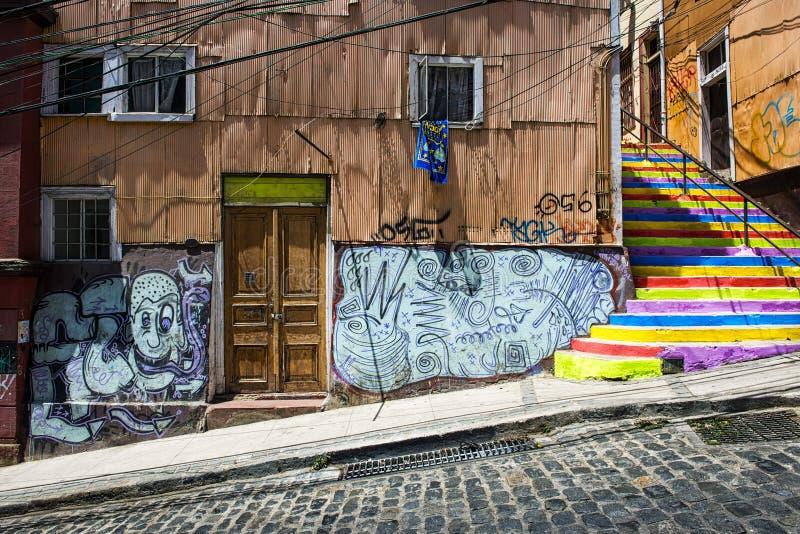 Valparaiso, Cile immagine stock libera da diritti