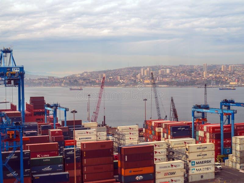 Valparaiso, Cile fotografie stock