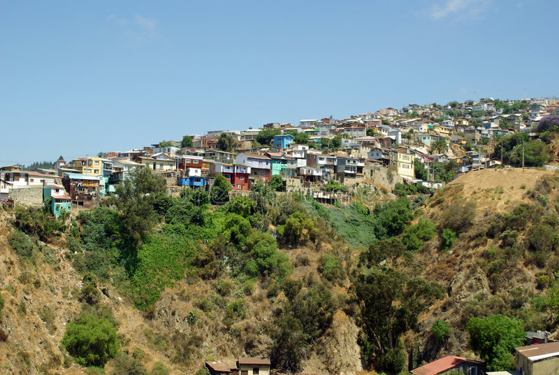 Valparaiso, Cile fotografia stock