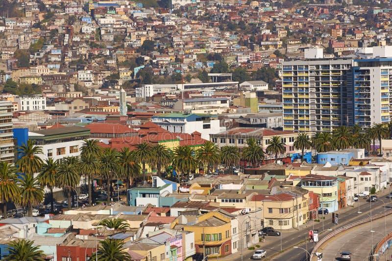 Valparaiso histórico fotografia de stock royalty free