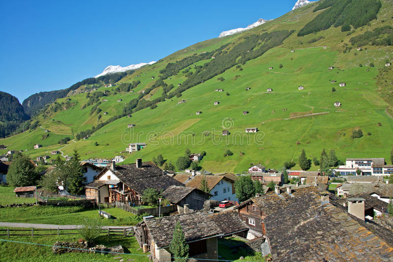 Download Vals, Swiss Alps stock image. Image of mountain, landscape - 26649093