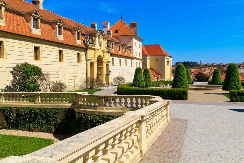 Valtice pałac zdjęcia royalty free