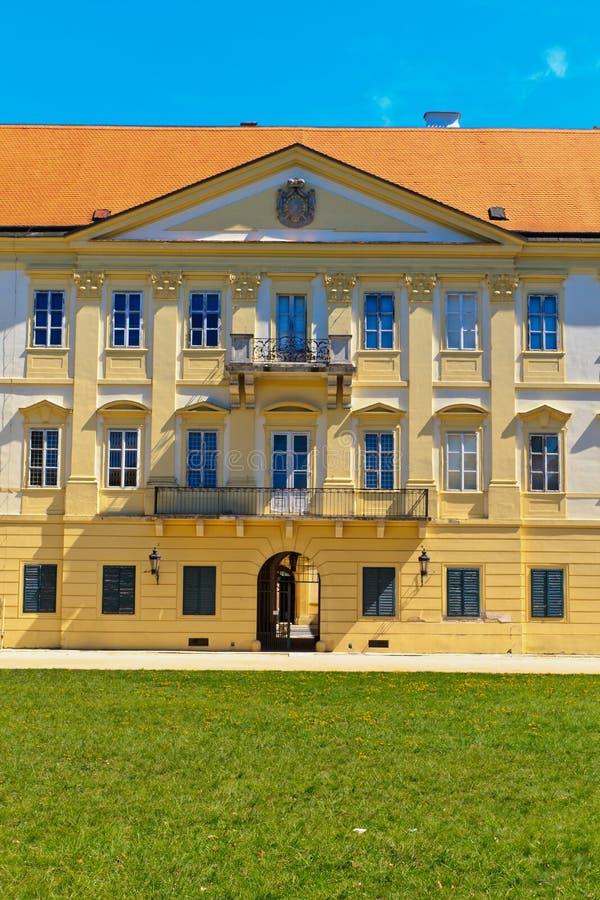 Valtice pałac fotografia royalty free
