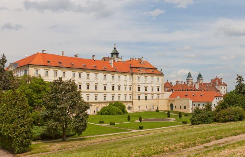 Valtice pałac (18th c ), republika czech zdjęcie royalty free