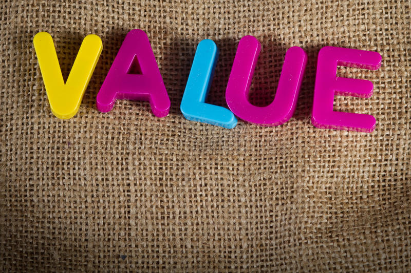 Value. Dictionary Definition Low key close up stock photos