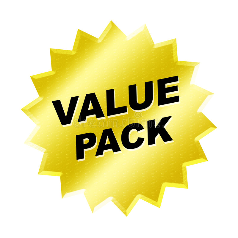 Free Value Pack Sign Stock Photography - 5847702