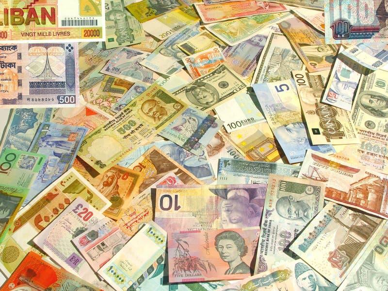 Valuta immagine stock