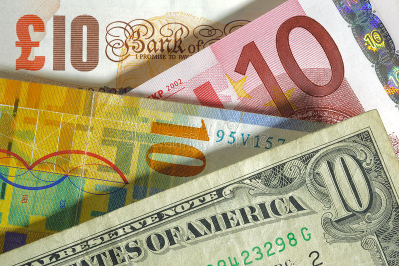 valuta royaltyfri bild