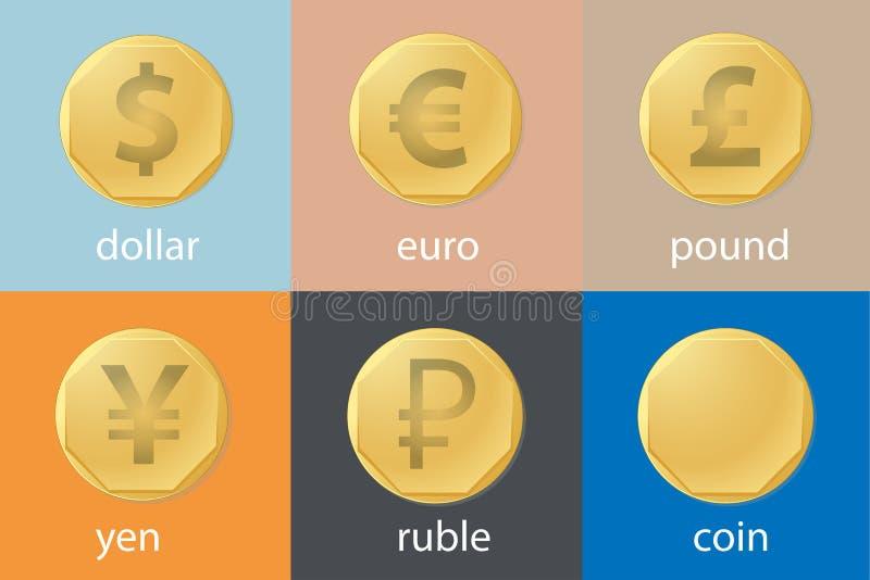 valuta illustrazione di stock