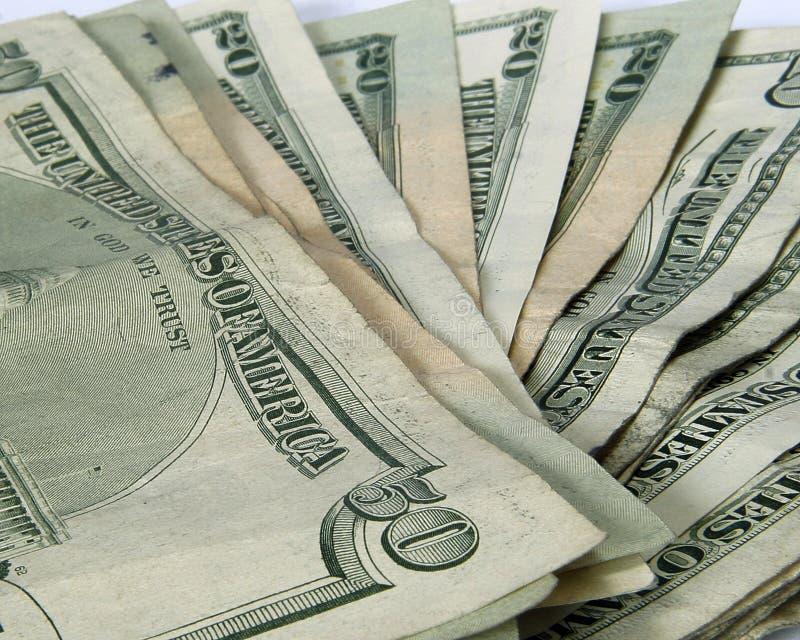 Valuta americana immagini stock