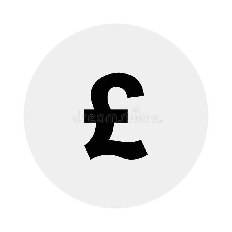 Valuta av Förenade kungariket också vektor för coreldrawillustration stock illustrationer
