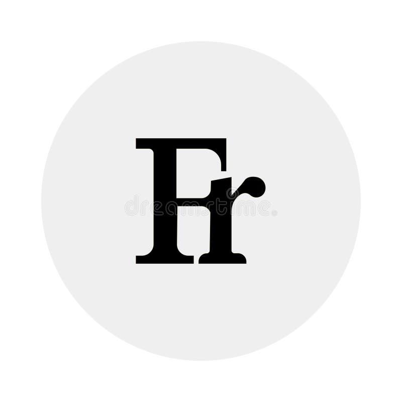 valuta av Schweiz Vit bakgrund också vektor för coreldrawillustration vektor illustrationer