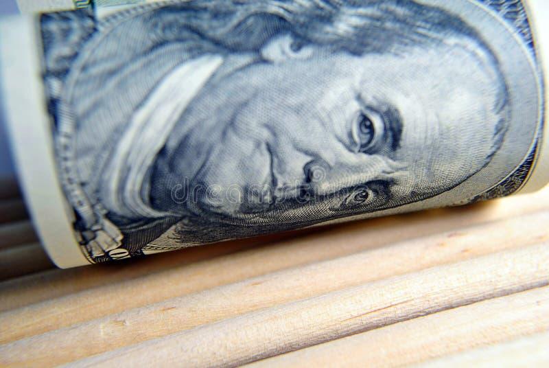 Valuta av USA slutet upp arkivfoto