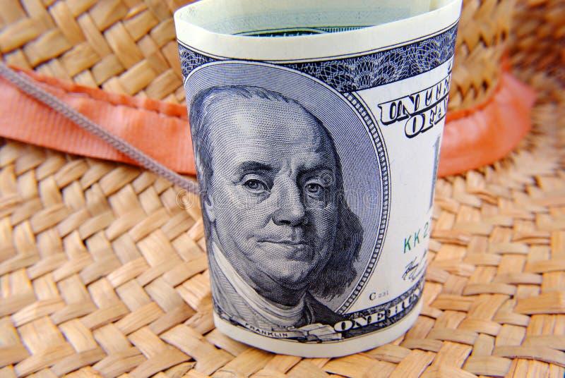 Valuta av USA slutet upp arkivbild