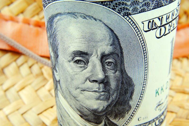 Valuta av USA slutet upp arkivfoton