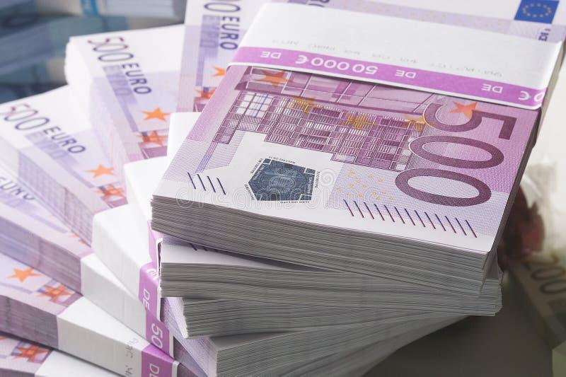Valuta europea immagine stock