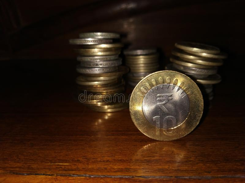 Valuta indiana fotografie stock