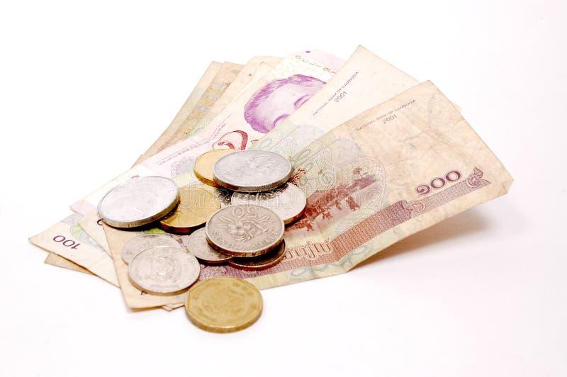 Valuta internazionale immagini stock