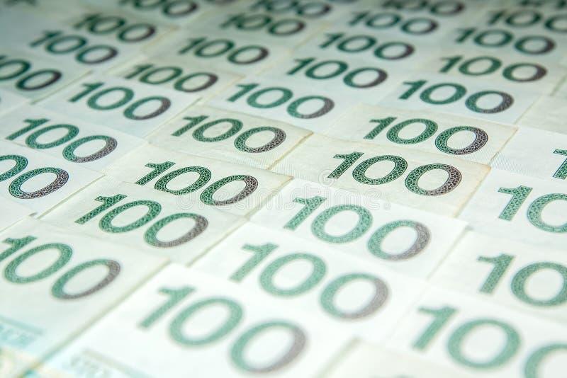 Valuta polacca di zloty fotografia stock libera da diritti