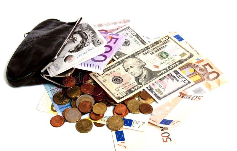 Valuta sous pression images libres de droits