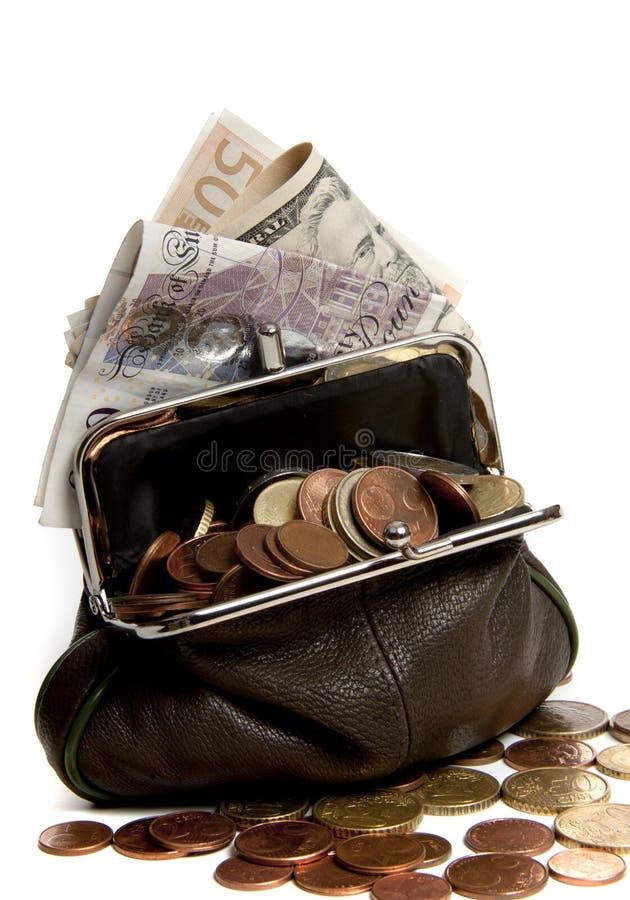 Valuta sous pression images stock