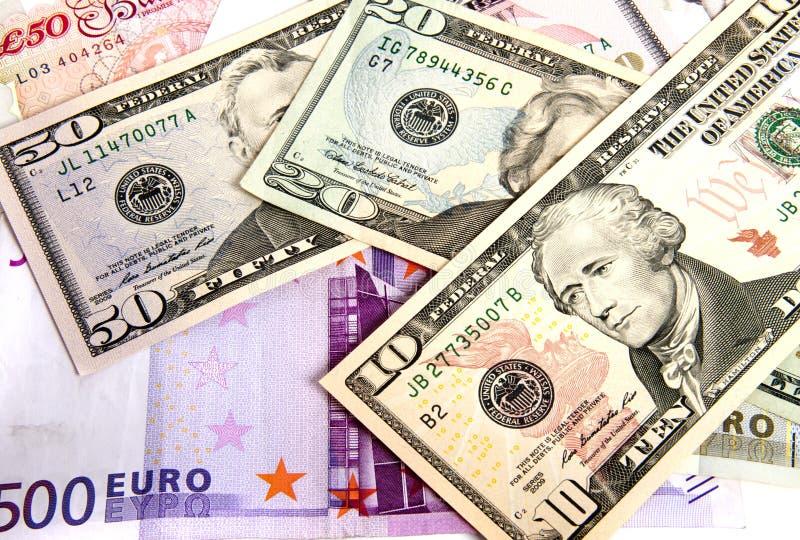 Valuta sous pression photographie stock libre de droits