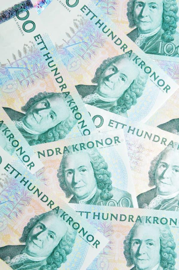 valuta sweden royaltyfria foton