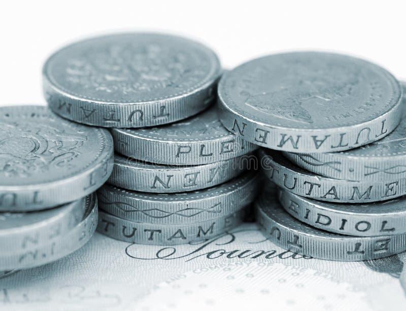 valuta uk royaltyfri foto