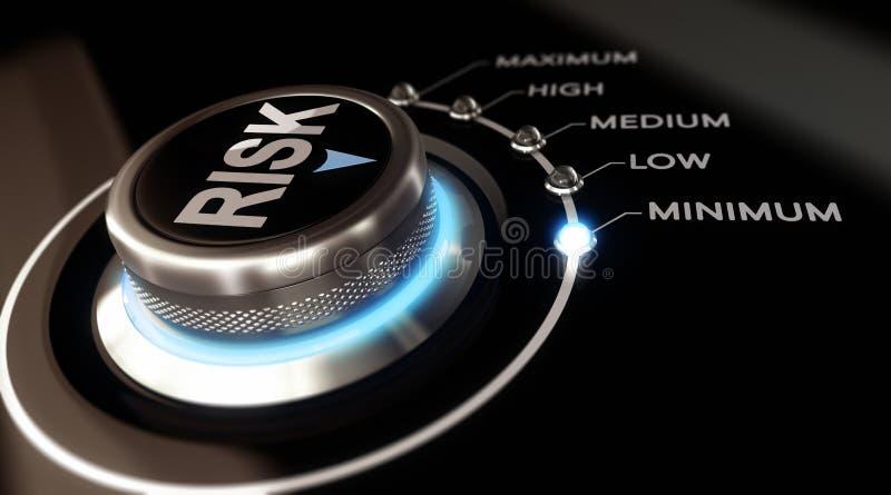 Valutazione del rischio illustrazione vettoriale