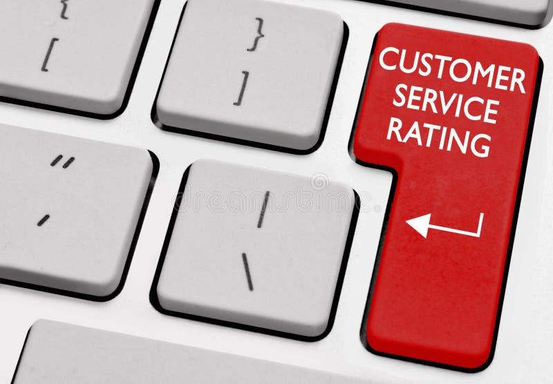 Valutazione di servizio di assistenza al cliente immagine stock libera da diritti