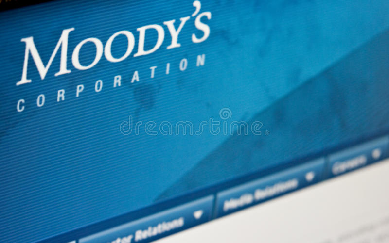 Valutazioni Moody immagini stock libere da diritti