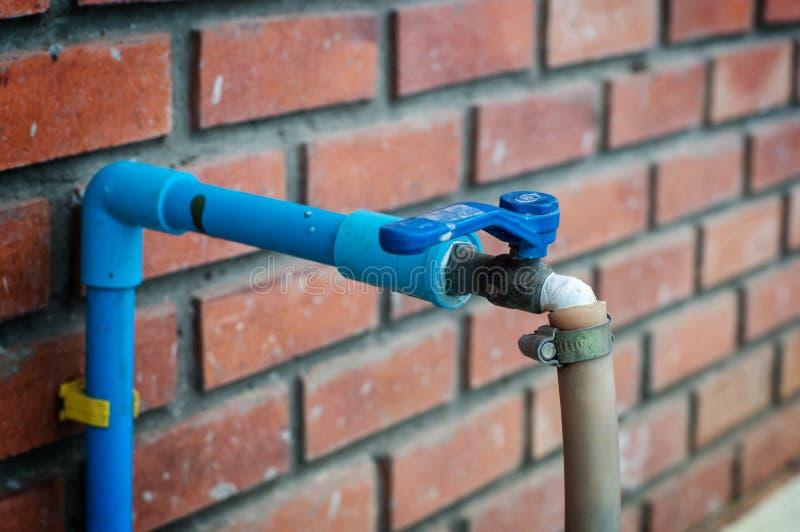 Valve de l'eau images stock