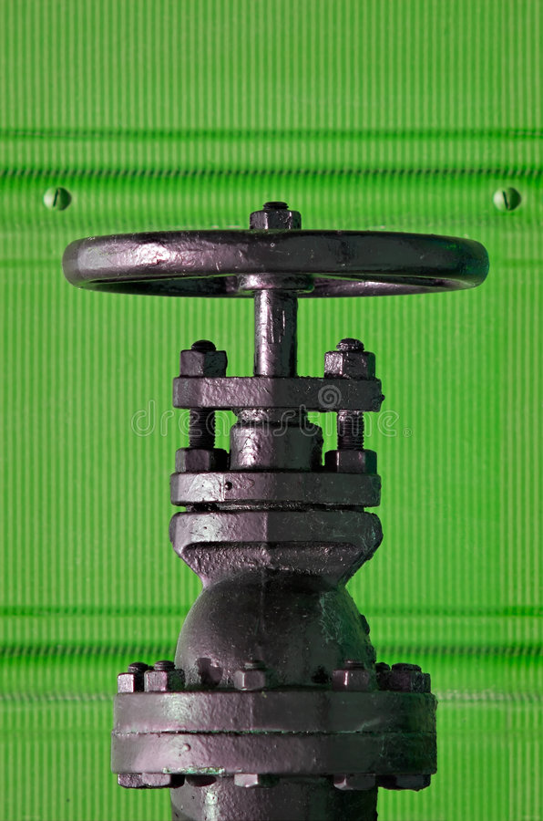 Free Valve On Green Royalty Free Stock Photo - 2562595