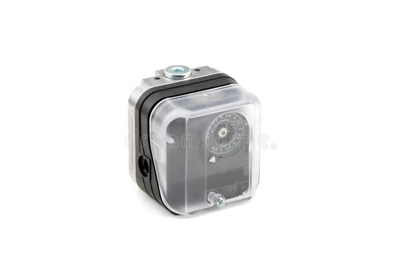 Valve pneumatique de minuterie image stock