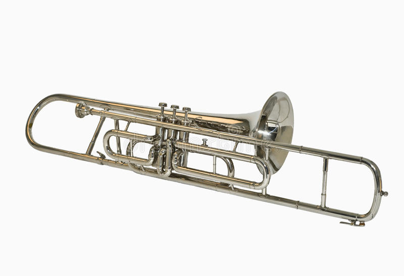 Valve trombone royalty free stock photo