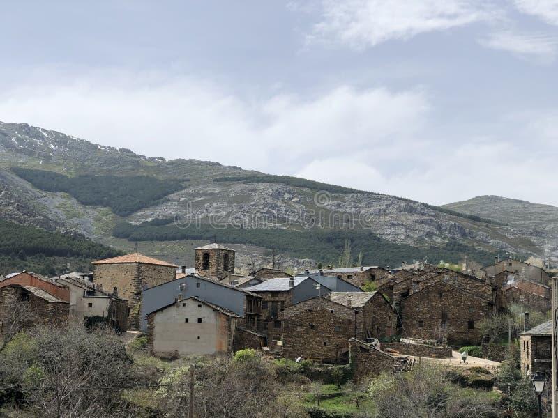 Valverde De Los Strumyk, Guadalajara, Hiszpania zdjęcia stock