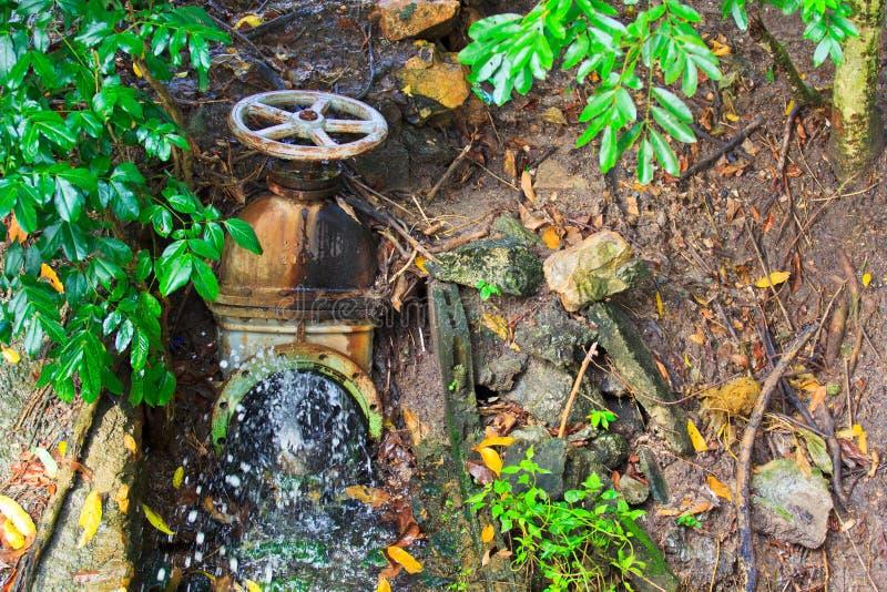 Valvola dell'acqua immagine stock