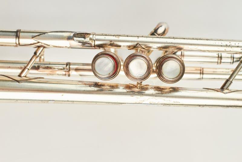 Valvola della fine della tromba su fotografia stock