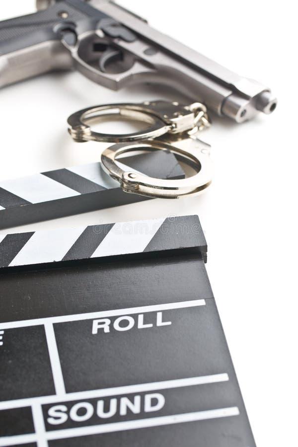 Download Valvola E Pistola Di Film Con Le Manette Immagine Stock - Immagine di immagine, vuoto: 55365823