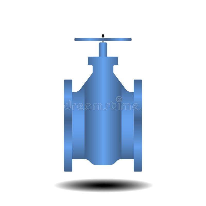 Valvole di intercettazione dell'acqua illustrazione di stock