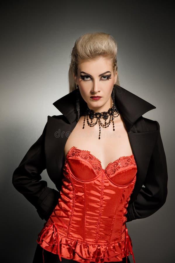 Free Vamp Woman Royalty Free Stock Photos - 6711338