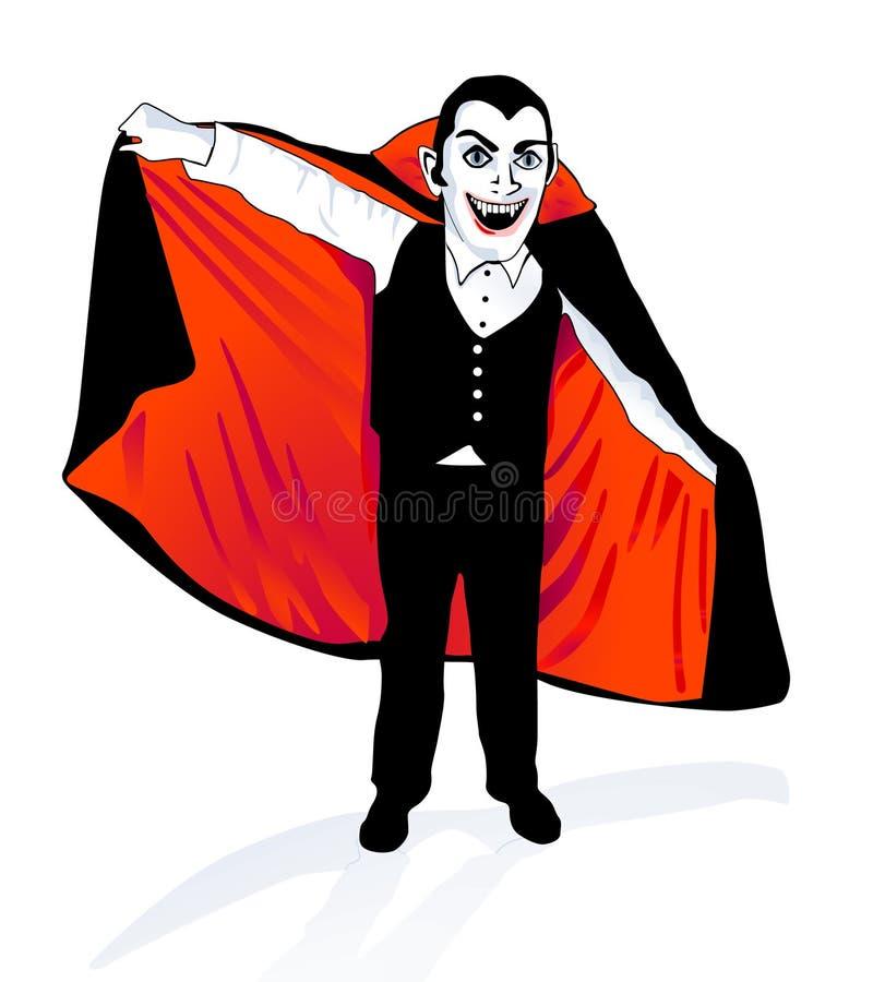 Vampier royalty-vrije illustratie