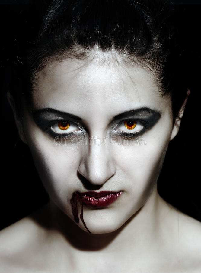 Vampier stock fotografie