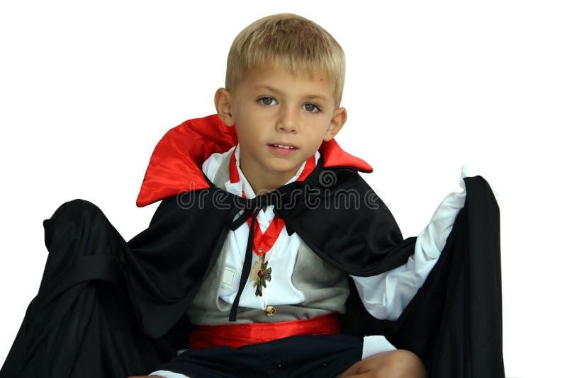Vampier met vleugels stock fotografie