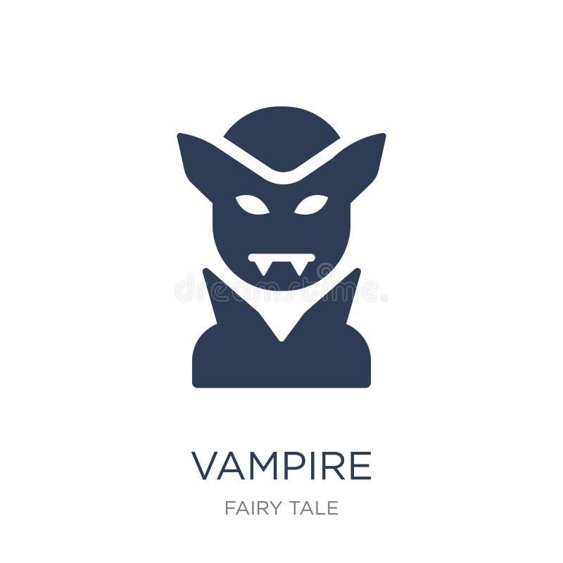 Vampierpictogram  royalty-vrije illustratie