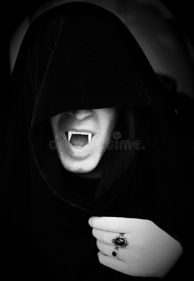 Vampir lizenzfreies stockbild