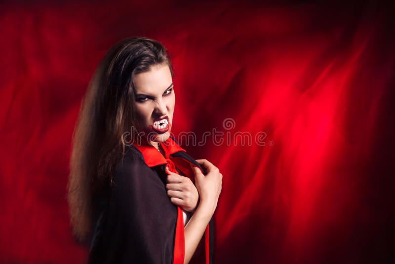Vampir lizenzfreie stockfotografie
