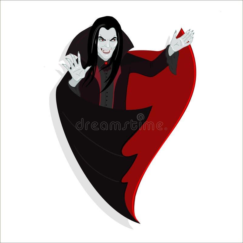 Vampir lizenzfreie abbildung