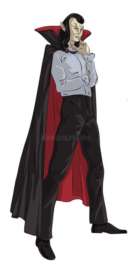 Vampire illustration libre de droits